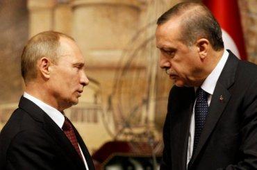 Эрдоган увел девушку уПутина ради хорошего фото