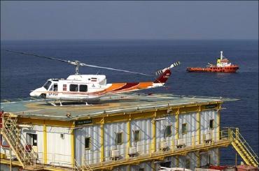 Вертолет разбился вПерсидком заливе