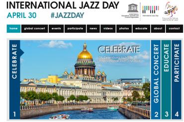 Международный день джаза открылся вПетербурге