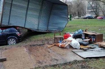 Ребенок погиб вовремя урагана вМоскве