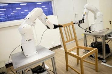 Роботов научили собирать стулья изIKEA