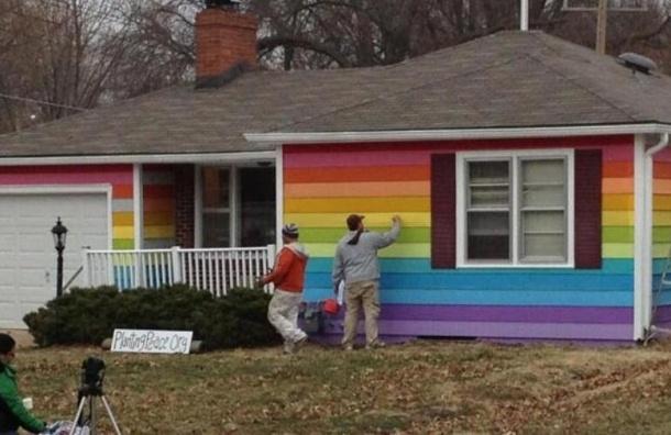 ВПетербурге откроется Дом ЛГБТ-гордости для своеобразных болельщиков кЧМ