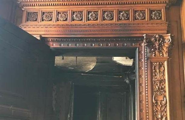 КГИОП рассказал подробности пожара вДоме архитектора