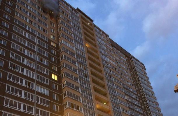 Спасатели эвакуировали 19 человек изгорящего дома наЕкатерининском проспекте