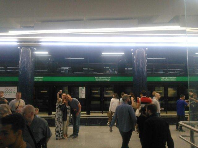 Открытие метро в Петербурге, 26.05 5