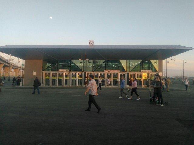 Открытие метро в Петербурге, 26.05 11