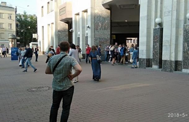 Метро «Лиговский проспект» закрыли для пассажиров