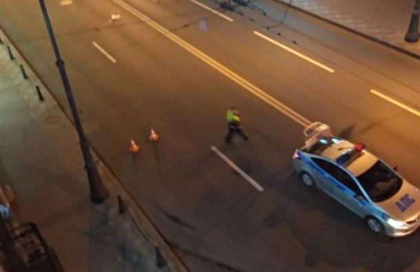 Женщина попала под машину вПетроградском районе
