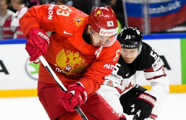 Россия проиграла Канаде вчетвертьфинале чемпионата мира