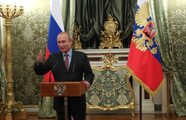 Главный успех Путина— «возвращение России статуса великой державы»