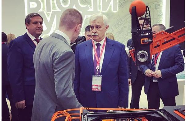 Полтавченко рассказал остоимости ПМЭФ для Петербурга