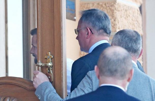 Сергея Семака заметили впетербургском офисе «Газпрома»