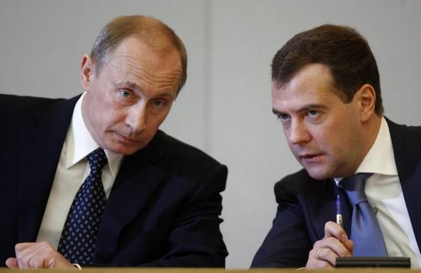 Медведев передал Путину проект структуры будущего правительства