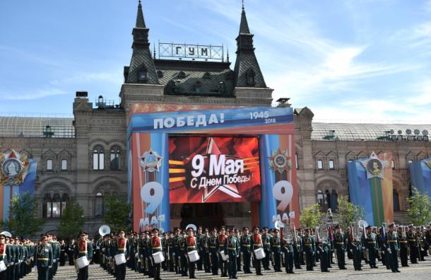 Парад Победы наКрасной площади завершился