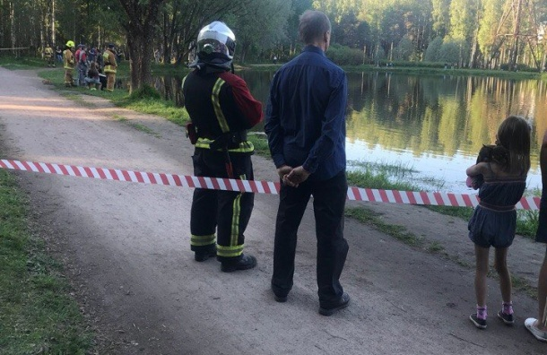 Молодой петербуржец утонул в пруду парка Сосновка