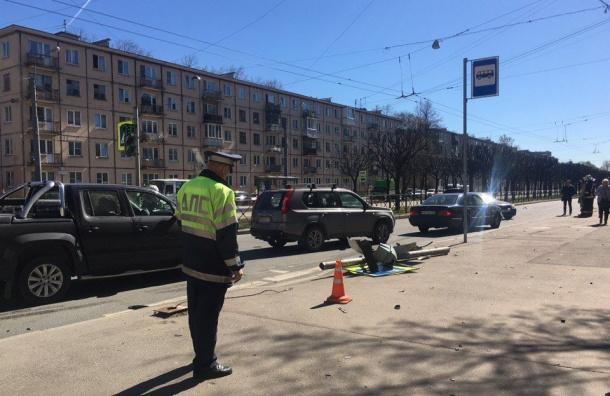 ВКалининграде сбитая на«зебре» пешеход отлетела нанесколько метров