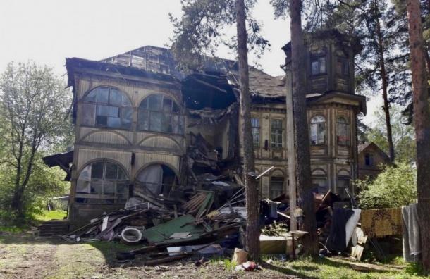 Прокуратура требует возбудить уголовное дело из-за разрушения дачи Кочкина