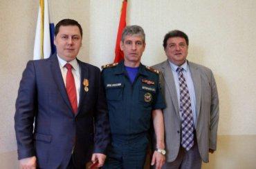 МЧС наградило главуМО «Купчино» Черепанова завклад вгражданскую оборону