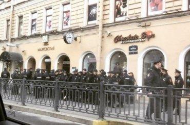 Полиция задержала наПервомае вПетербурге 10 человек