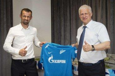 Семак назначен главным тренером «Зенита»