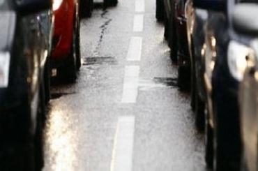 Выезды КАД заблокированы из-за огромных пробок