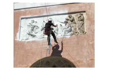 КГИОП: фасад храма Спаса нерукотворного образа покрасили незаконно