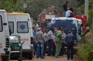 Более 100 человек погибли врезультате крушения самолета наКубе