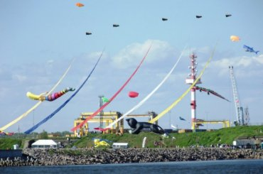 Второй международный фестиваль воздушных змеев «Фортолет» вфорту Константин
