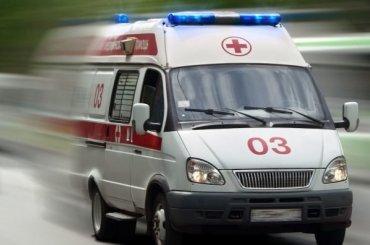Девочка упала совторого этажа заброшенного здания
