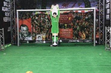 Робот-вратарь обыграл аргентинского футболиста