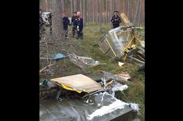 Самодельный самолет рухнул вЛенобласти