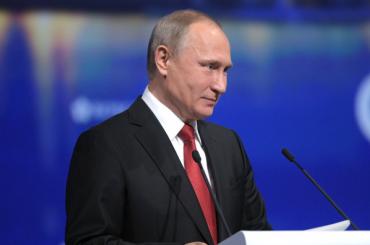Путин считает, что мировая экономика беременна