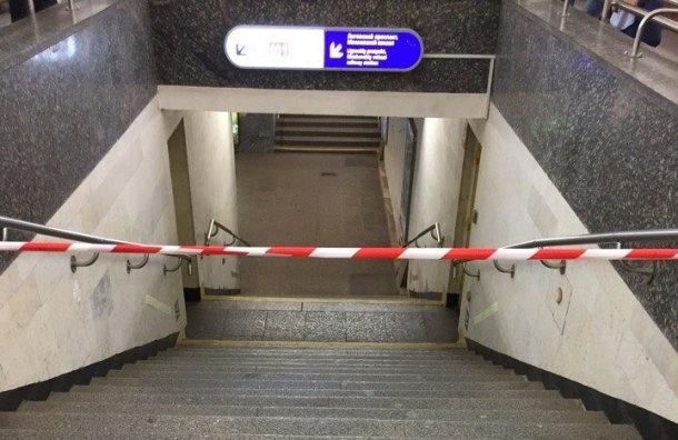 Станция метро «Площадь Восстания» 22мая поменяет режим работы