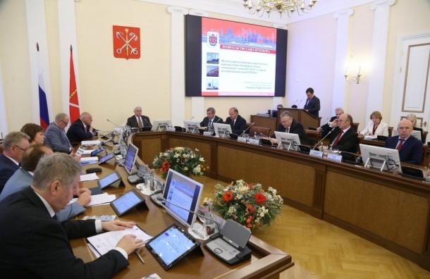 Полтавченко хотел уснуть вовремя заседания правительства