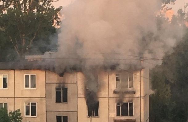Женщина погибла впожаре наБабушкина