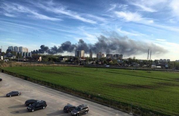 Очевидцы сообщили опожаре вМеталлострое
