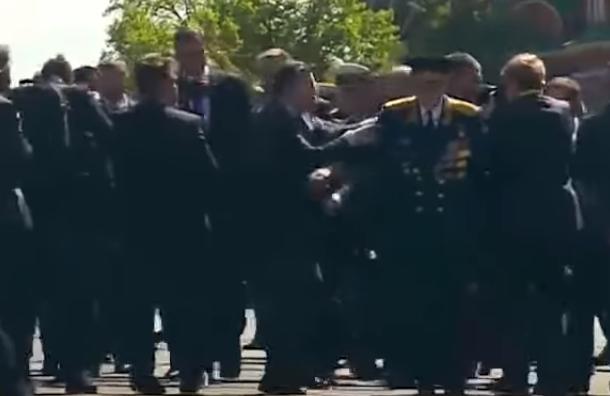 Песков прокомментировал действия службы безопасности Путина