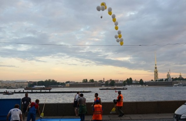 Фан-зону наКонюшенной незакроют на«Алые паруса»
