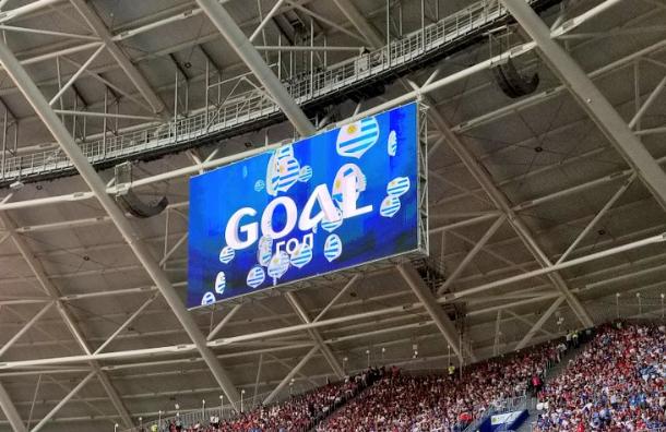 Три мяча икрасная карточка: Россия проиграла Уругваю