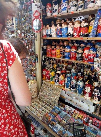 Сувениры на улицах Петербурга в период ЧМ-2018 1