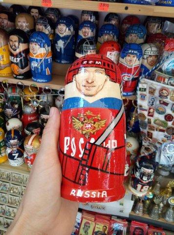 Сувениры на улицах Петербурга в период ЧМ-2018 2