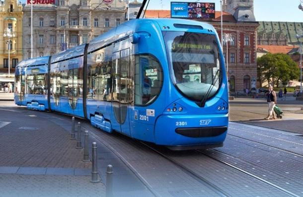 Хорватское производство трамваев собираются наладить вПетербурге