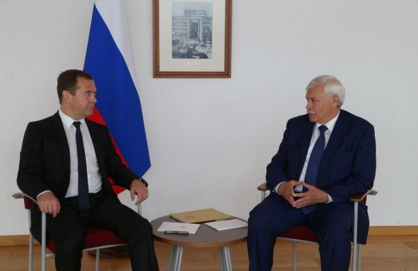 Полтавченко рассказал оплюсе матчейЧМ вПетербурге