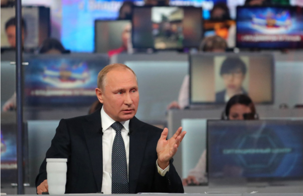 Путин рассказал, зачем чиновников подключали кпрямой линии