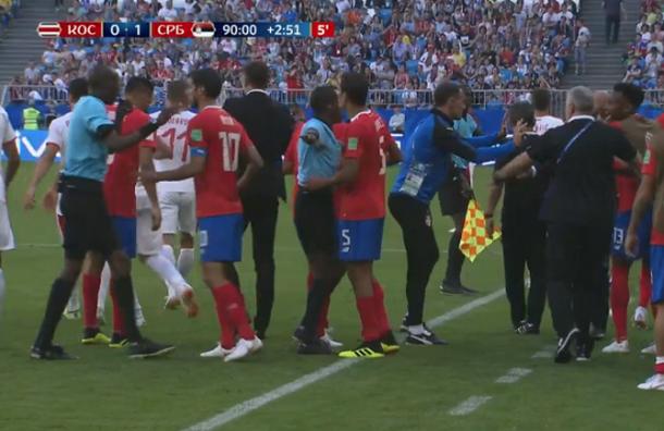 ЧМ-2018: матч между Сербией иКоста-Рикой закончился дракой