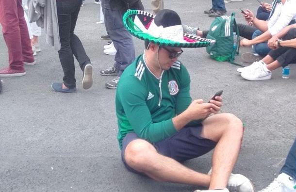 Мексиканцы следят зафутболистами изПетербурга