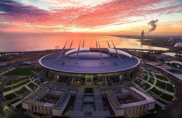 Петербург признали лучшим городом-организатором ЧМ-2018