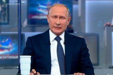 Критику Путина увели на«плазму»