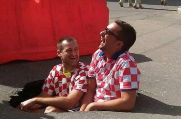 Болельщики Хорватии сделали мем сроссийскими дорогами