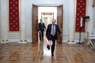 Путин записал обращение коткрытию ЧМ-2018